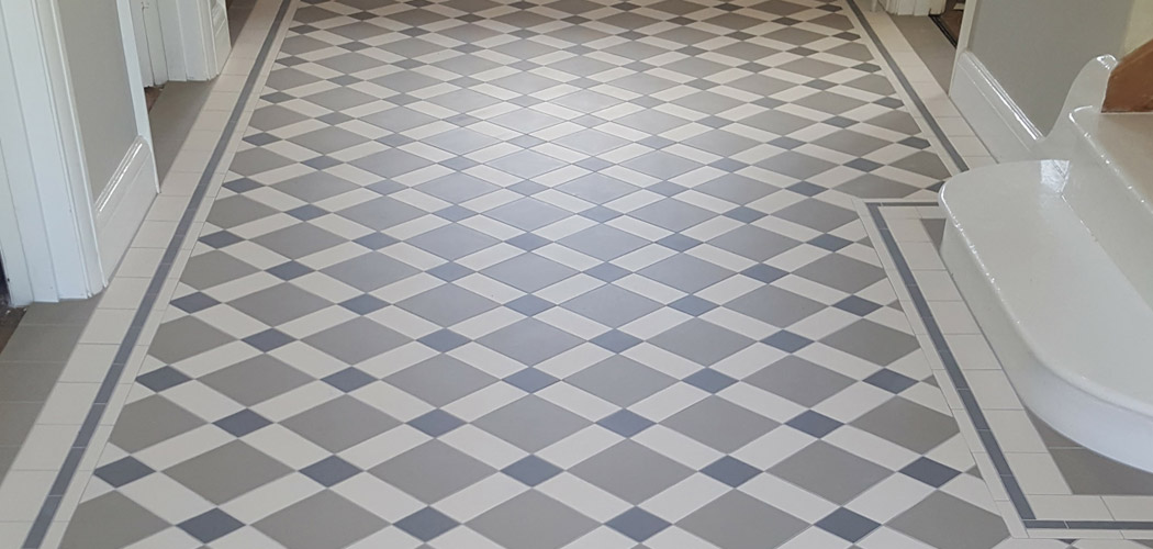 Geometric Floor Tiling